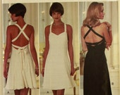 """Cocktail Dress by Cynthia Rowley -1990's - Butterick Pattern 3931  Uncut   Size 14-16-18  Bust 36-38-40"""""""