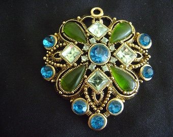 Vintage Very Large Beautiful Pendant