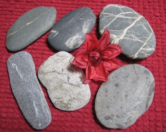 20% OFF SALE***Extra Large Beach Stones-DIY Wedding Decor-Wedding Guest Book Alternative-Signing Stones-Table Numbers