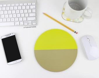 Mousepad / Color Block Mouse Pad / Office Desk Accessories