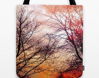 Fall Foliage Tote Bag, Fall Leaves Bag, Fall Tote Bag, Autumn Tote Bag, Fall Scenery Bag, Fall Trees Tote Bag, Fall Scenery Tote, Fall Bag