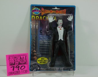 1986 Imperial Toy Co.Universal Pictures Classic Movie Monsters-Dracula