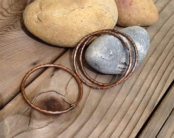 Etched Copper Bangles