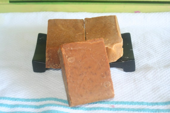 Tomato Carrot Clear Complexion Soap made with Organic oils-5.3 ozs