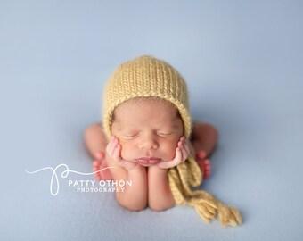 Newborn Photography Fabric Backdrop -  Ultra Soft Tommy Knit Backdrop in Soft Blue -  2 Yards
