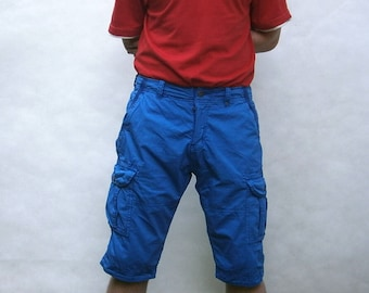 Mens shorts. Blue. NEW STYLE