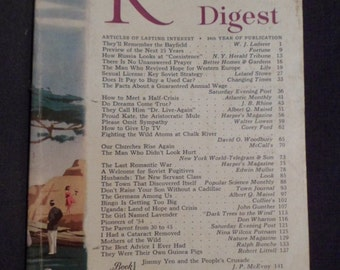 March 1955 Readers Digest