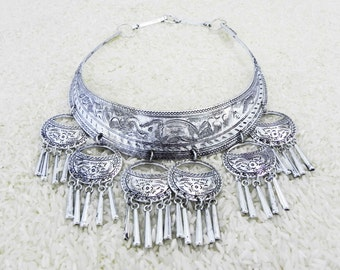 Moonshadow Hmong necklace