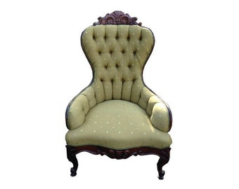 Evelyn Victorian Barrel Chair