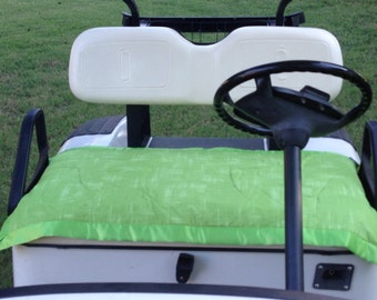 Golf Cart Seat Cover Green