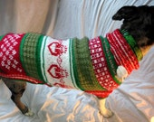 Knit to Order Customized Dog Sweater