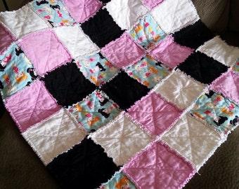 China girls rag quilt