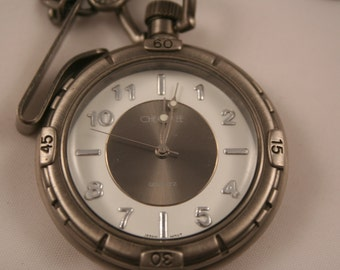 Pocket Watch by Cherokee •  Free Shipping! • Perfect Present •  Working and Ready for Use