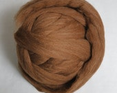 100g*Moorit*Professionally COMBED SHETLAND FLEECE* Top Quality. Natural.wool.tops.roving.pure.british.scottish.uk.Sheep breeds.felting.brown