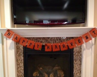 Happy Harvest Banner