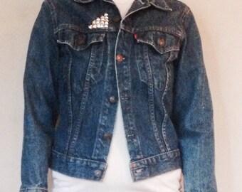 Vintage Levis studded Denim Jacket