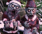 Mr. and Mrs. Zombie Santa Corpse - Zombie Christmas ON SALE NOW!! - RevenantFX