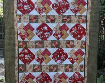 Card Trick Lap Quilt and Wall Hanging