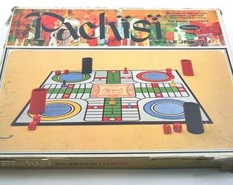 1967 Pachisi Board Game
