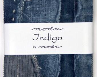 INDIGO Charm Pack by Moda