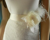 wedding dress sashes for A24, custom order