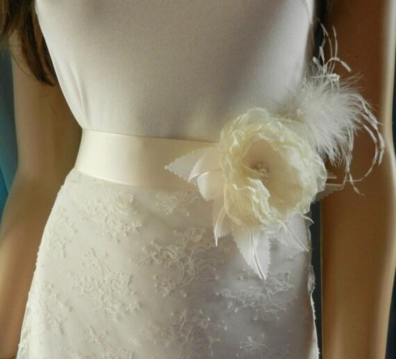 Unique Wedding Dress Sashes Belts: Wedding Dress Sashes For A24 Custom Order