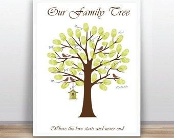 Diy family tree   Etsy