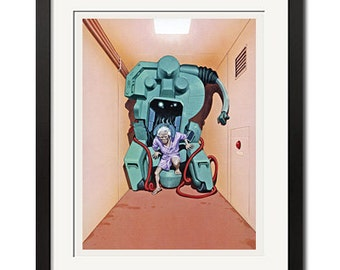 Katsuhiro Otomo x Roujin Z Poster Poster Print