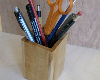 maple pencil box