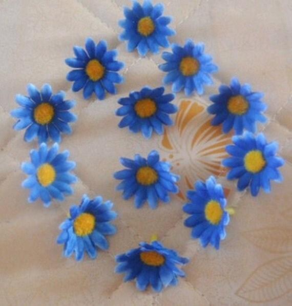 Silk gerbera daisy mini flower heads 100pcs lot diy crafts for Flower heads for crafts