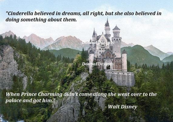 Walt disney cendrillon citation aimant de par - Image cendrillon walt disney ...