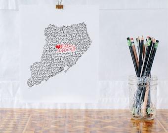 Staten Island Illustration Print
