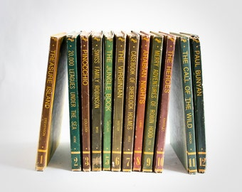 Classic Library Series 1-12 Children's Book Collection