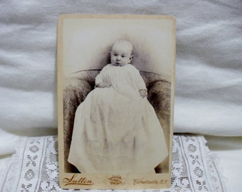 Cabinet Card: Infant, 3 Months Old