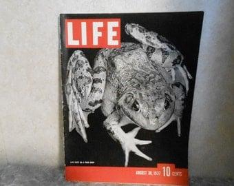 Aug. 30, 1937 Life Magazine