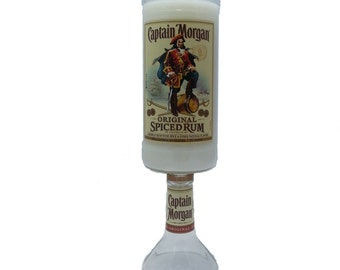 Captain Morgan Original Spiced Rum Liquor bottle scented candle - You select your scent!
