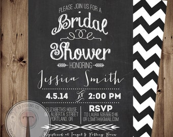 Printable Bridal Shower Invite/Bridal Shower INVITATION