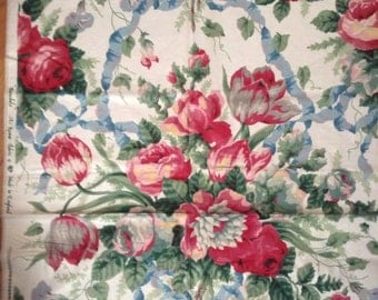 English country Shabby Chic Chinz Floral fabric