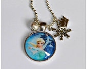 Elsa - Queen of Ice and Snow - A Frozen Necklace