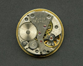 19 Jewel Vintage Cardinal Watch Movement for Parts