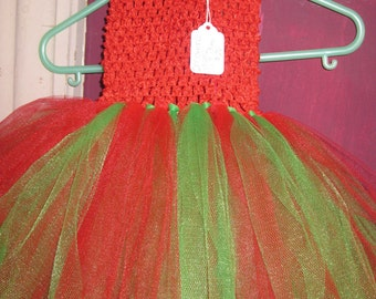 Red Amp Green Tutu Dress Christmas Dress