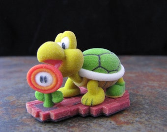 Koopa Super Mario Brothers Full Sandstone Model Gaming Icons 2