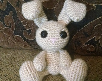 Stuffed Crochet Bunny Toy