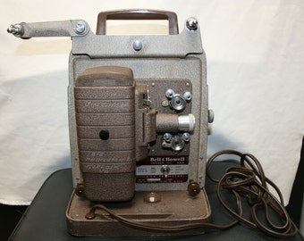 Vintage Bell and Howell 8mm movie projector