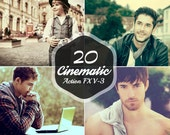 20 Premium Cinematic Actions Vol.3 for Beautiful Photography Editing // Photoshop