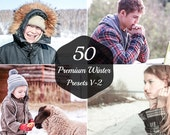 50 Premium Winter Lightroom Presets V-2