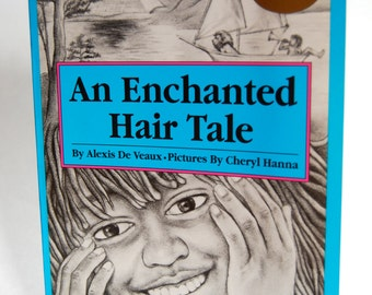 Vintage Children's Book, An Enchanted Hair Tale