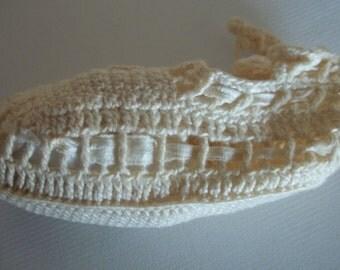 1940s vintage Crocheted baby booties