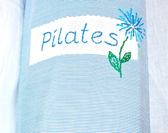 Pilates bag - light blue