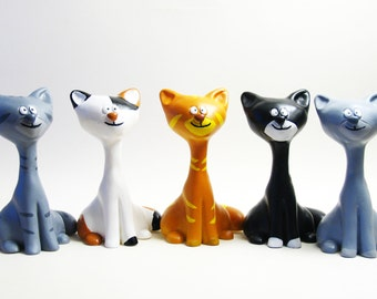 Cat figure customizable